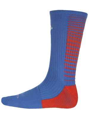 adidas Team Speed Vertical Crew Socks Blue/Orange