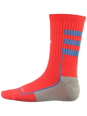 adidas Team Speed Crew Socks Orange/Blue