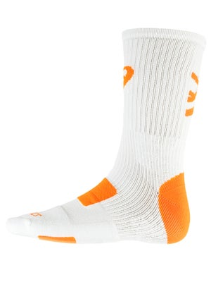 Asics Team Tiger Crew Socks White/Orange