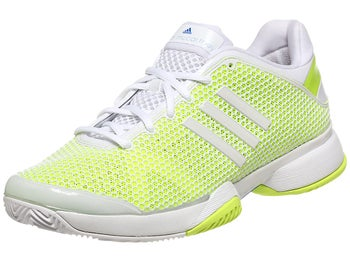 adidas Stella Barricade 8 Wh/Yellow Women's Shoe