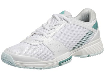 adidas Barricade Team 3 White/Fresh Aqua Women's Shoe