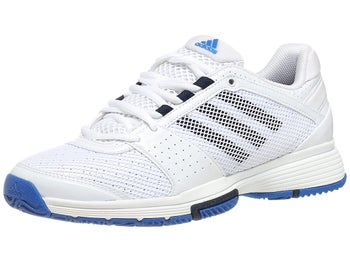 adidas Barricade Team 3 White/Blue Women's Shoe