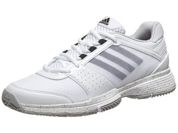 adidas Barricade Team 3 White/Silver Women's Shoe