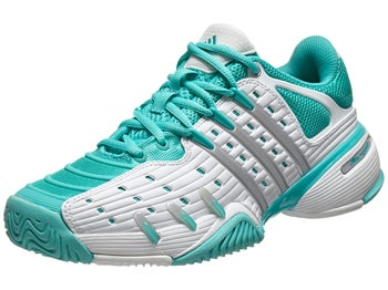 adidas Barricade V Classic White/Mint Women's Shoe
