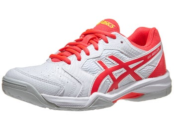 8bdda2bb10d9 Product image of Asics Gel Dedicate 6 White/Laser Pink Women's Shoes