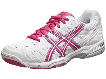 Asics Gel Game 4 White/Pink Women's Shoes