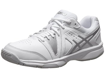 Asics Gel Gamepoint White/Silver Women's Shoes