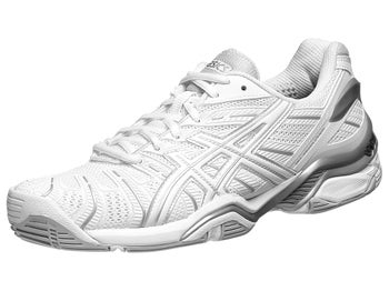 Asics Gel Resolution 4 Wh/Silver Women's Shoes