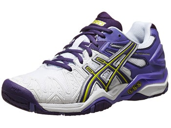 Asics Gel Resolution 5 White/Purple Women's Shoes