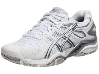Asics Gel Resolution 5 White/Silver Women's Shoes