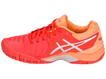 5945b6cfc33b Asics Gel Resolution 7 Red Peach Women s Shoes