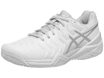 4e502fa944 Product image of Asics Gel Resolution 7 Clay White/Silver Women's Shoes