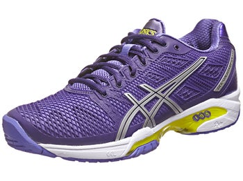 Asics Gel Solution Speed 2 Purple/Silver Women's Shoes