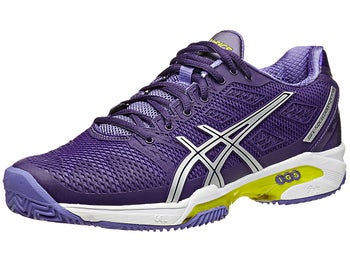 Asics Gel Solution Speed 2 Clay Pu/Silver Women's Shoes