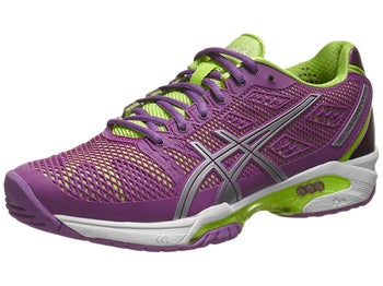 Asics Gel Solution Speed 2 Purple/Green Women's Shoes