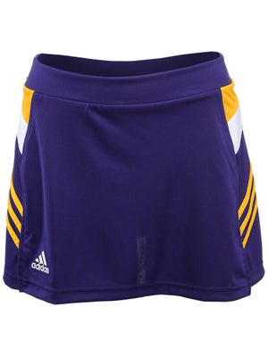 adidas Women's miTeam Skort - Purple & Gold