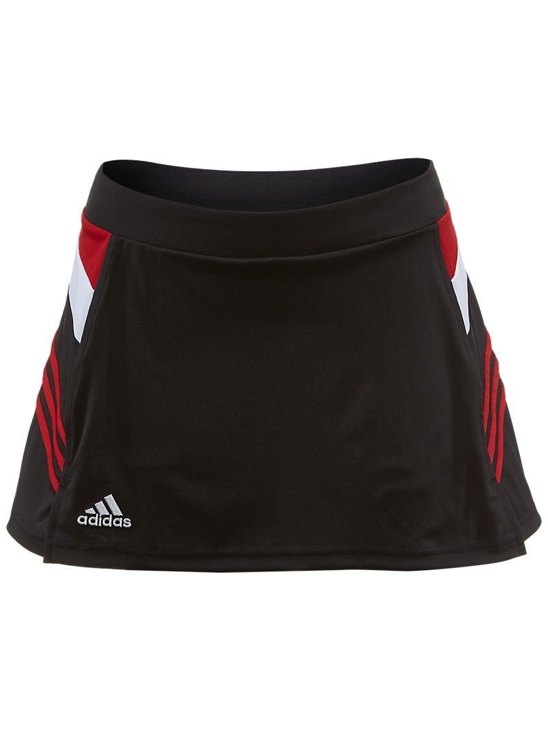adidas Women's miTeam Skirt - Black & Red