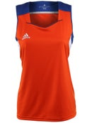 adidas Womens miTeam Tank - Royal & Orange
