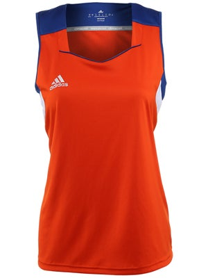 adidas Women's miTeam Tank - Royal & Orange