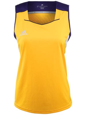 adidas Women's miTeam Tank - Purple & Gold