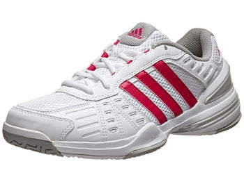 adidas Response Rally Court Wh/Pink/Red Women's Shoe