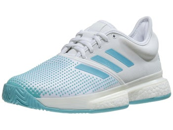 best service 43ac3 9a262 Product image of adidas SoleCourt Boost Parley WhiteBlue Womens Shoes