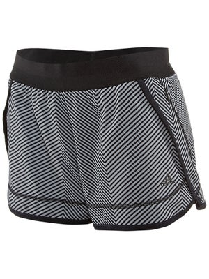 adidas Women's Summer Powerluxe Chevron Short