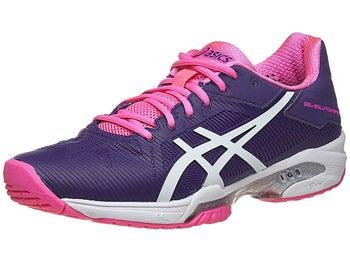 f55e758d668fd Asics Gel Solution Speed 3 Pu/Wh/Pk Women's Shoes