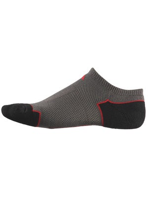 adidas Youth ClimaCool No Show 2 Pk Socks Graph/Red
