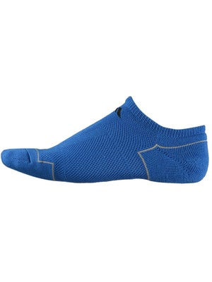 adidas Youth ClimaCool No Show Socks Blue LG
