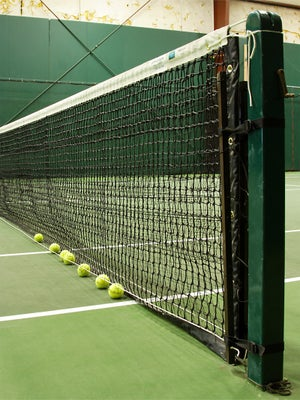 Ball Magnet Tennis Net Accessory