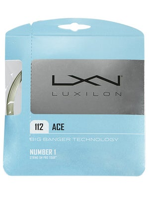 Luxilon Big Banger Ace 18 Green String