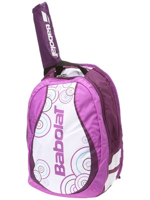 Babolat Backpack Bag Girl's White/Purple