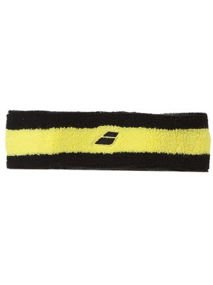 Babolat Doubleline Headband Black/Yellow