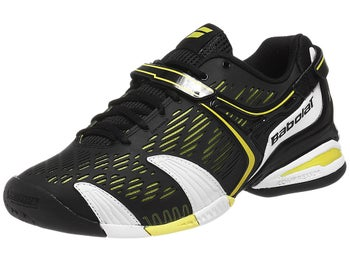 Babolat Propulse 4 Black/Yellow Men's Shoes