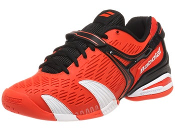 Babolat Propulse 4 Orange/White/Black Men's Shoes