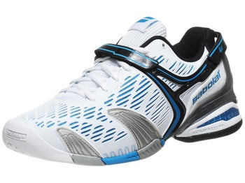 Babolat Propulse 4 White/Blue Men's Shoes