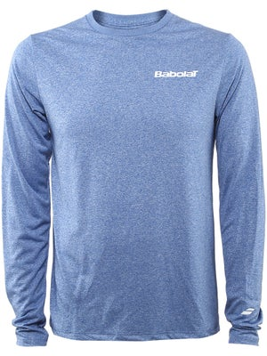 Babolat Men's Poly Long Sleeve Crew