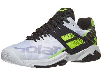 Babolat Tennis Shoes >> Babolat Propulse Fury Ac White Yellow Men S Shoes