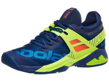 Babolat Tennis Shoes >> Babolat Propulse Rage Blue Yellow Men S Shoes