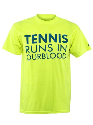 Babolat Men's Tennis Runs In Our Blood T-Shirt