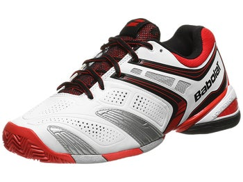 Babolat V-Pro 2 Clay White/Red Men's Shoes