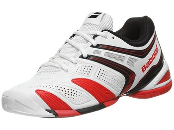 Babolat V-Pro 2 All Court White/Red Men's Shoes