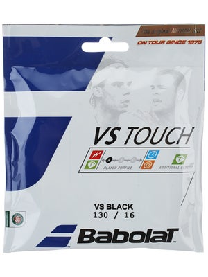 Babolat VS Natural ThermoGut 16 Touch String Black