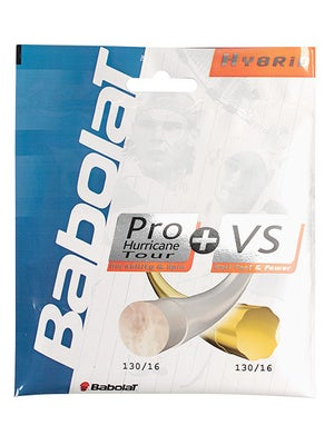 Babolat Hybrid Hurricane Tour 16+ VS 16 String