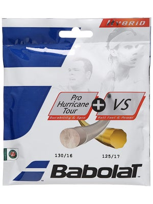 Babolat Hybrid Hurricane Tour 17+ VS 16 String