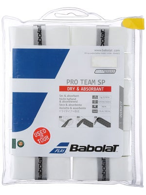 Babolat Pro Team SP Overgrip 12-pack White