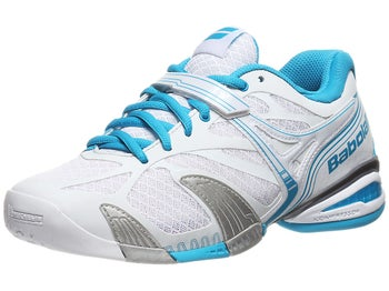 Babolat Propulse 4 White/Blue Women's Shoes