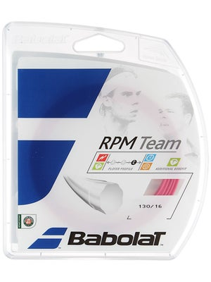 Babolat RPM Team 16 String Pink