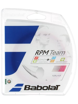 Babolat RPM Team 17 String Pink
